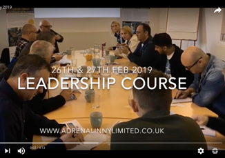 Two day leadership course, Feb 2019